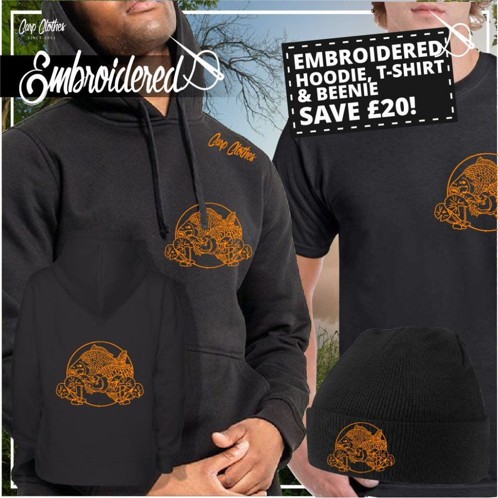 035 EMBROIDERED CARP DEAL